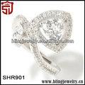 trilioni di simulato zircone vite imitazione anelli di diamanti prezzo dalla cina