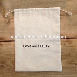 Organic Cotton Muslin Drawstring Bags Wholesale