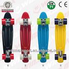 "22.5""*6"" High Quality Original Penny Board Skateboards, plastic sliding board with PU wheel"