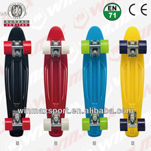 "22.5""*6"" High Quality Original Penny Board Skateboards, plastic sliding board with PU wheel"