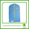 Factory direct sale clear garment bags with pockets