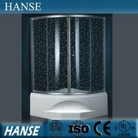 HS-SR005B italian glass partition shower room door bathtub size shower enclosures