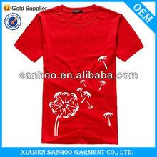 Men'S Cotton O-Neck Custom 3D Printing T-Shirts Top Quality Good Quality