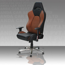 office chair with footrest racing office chair SPB/PVC