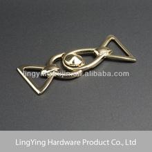 72mm * 30mm Golden hardware lanyard safety breakaway buckles