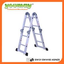 aluminum EN131 ladder, aluminium ladder, china housewares AM0108A