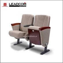 LEADCOM high quality tip up church auditorium chair (LS-10601 Series)