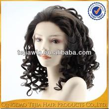Wholesale cheap spring curl Brazilian virgin human hair natural scalp wig