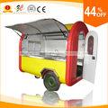 ce özelleştirilmiş yeni varış 304 paslanmaz çelik ve FRP gazlı dondurma arabas