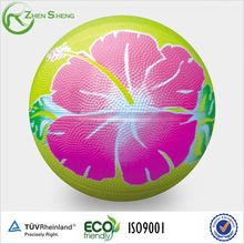 Colorful rubber basketball