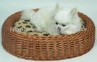 lovely wicker pet basket for sale