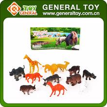 Orman hayvan dekorasyon, bebek orman hayvanları, plastik orman hayvanları