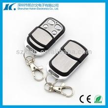 Programable Short Sliding Cover Metal Shell Universal RF Duplicator Wireless Clone 4-keys Remote Control