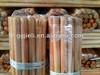 cheap price varnished wooden broom stick manufacturer
