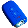 2014 New items with 3 buttons silicone rubber for hyundai remote key case