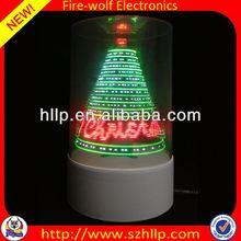 2014 hot sale wholesale led 3D usb plush singing christmas tree manufacture