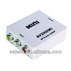 RCA to HDMI converter 1080P RCA Input to HDMI output converter