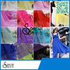 cheap 100 % polyester plain style for dresses with chiffon fabric
