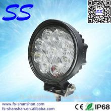 circular LED light Bar 4.5 inch Epsitar 27w,go kart,work lamp,for Off road,garden,yacht,boat accessories,SS-2001