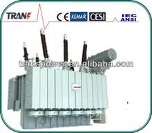 80MVA 132KV 3 phase oil immersed isolation power transformer