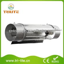 Hydroponics Equipment 6 Inch Flange Cool Tube Aluminum Reflector