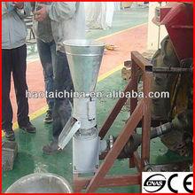 Small mobile flat die organic fertilizer pellet making machine