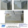 cimento da fibra câmara painel de parede composto de poliestireno expansível placa de isolamento preço