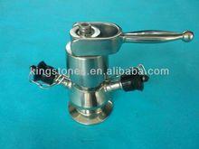 stainless steel aseptic sampling valve
