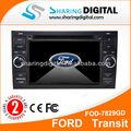 din 2 portátil de pantalla táctil del coche dvd con gps bluetooth para ford transit