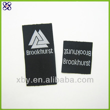 Computer woven label clothing tags/Custom made woven label