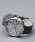 geneva watch 3 subdials stainless steel case water resistant