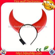 Fashion led mohawk headband glow led mohawk headband