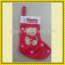 hot sale new wholesale christmas stockings decoration