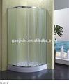 scorrevole design semplice vetro smerigliato profilo della scatola di alluminio doccia ikea