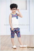 Children sets children clothing for summer/sleeveless set