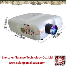 "Hot sell online 130W LED Lamp 2500 LM Home theater cinema full hd 1080p 3D led Projector 200""projection screen"