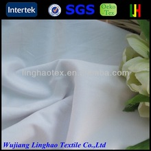 Bleach white microfiber fabric with peach finish