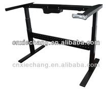 Ergonomic electric height adjustable office desk