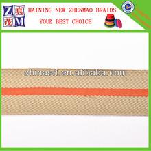 Wholesale Stripe 1 inch webbing belt