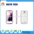 Wc3 3,5 pollici nessun telefono cellulare 1 quad band gsm a basso costo tocco dello schermo mi cellulare