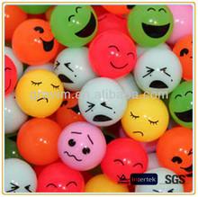 smile face plastic bouncing ball wholesale