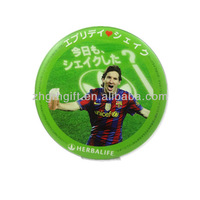 tins button high quality custom metal magnet round badge