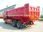 6*4 Golden Prince U style hopper tipper dump truck
