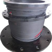 Large diameter rubber corrugated pipe