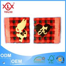 Elegant woven garment label for cloth
