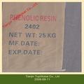 De color amarillo pálido de resina fenólica 2402 su uso como sulfidizer, intensificador y tackifier