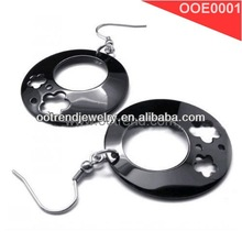 ladies earrings designs pictures,black plating charm earrings