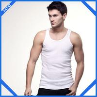 oem cheap promotional mens white vest