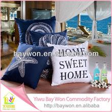 2014 Latest design linen/cotton cushion cover