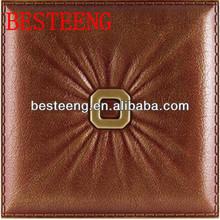decorative 3d hot mature in leather in dongguan